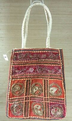Beautiful Woven Metal Chain Purse from India...Amazing Craftsmanship.