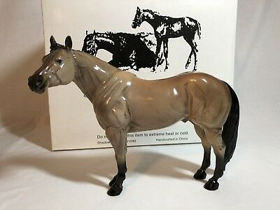 Black Horse Ranch heavy resinMr Conclusion buckskin, limited edition, withbox