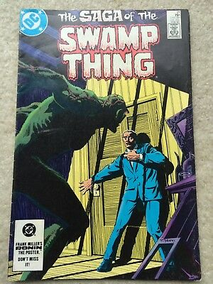 Saga of the Swamp Thing #21 *New Origin By Alan Moore* FINE+