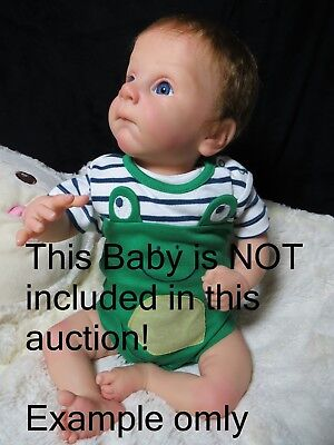 REBORN VINYL NEW RELEASE! Baby DOLL*KIT*~by ADRIE STOETE~F-LIMBS~NO RESERVE~~~ ~