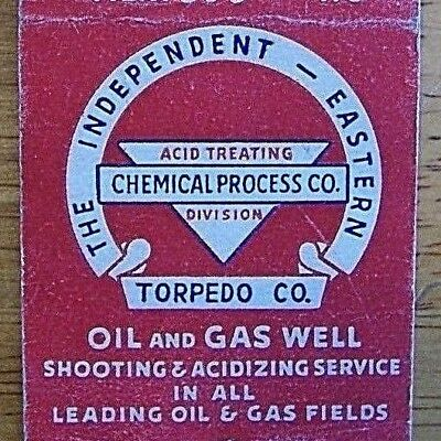 1940's Oil & Gas Well Shooting & Acidizing,independent-Eastern Torpedo Co.