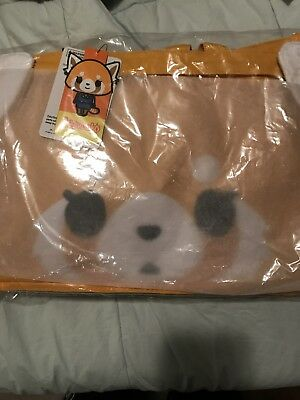 Sanrio Aggretsuko Red Panda Ai-tatA Favorite Thing Bag Trinket Plush Starter Kit