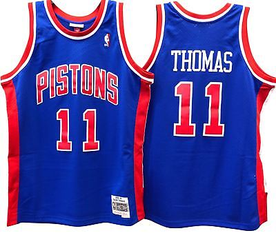 9ff5ae725 Isiah Thomas Detroit Pistons Nba Hardwood Classics Throwback Swingman Jersey