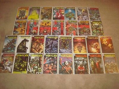 Teenage Mutant Ninja Turtles 19 + 38-65 Complete TMNT IDW Series Comic Book LOT