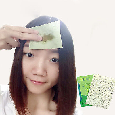 Green Tea Scent Oil Blotting Control Absorbing Facial Papers Wipe100 Sheets  NEU