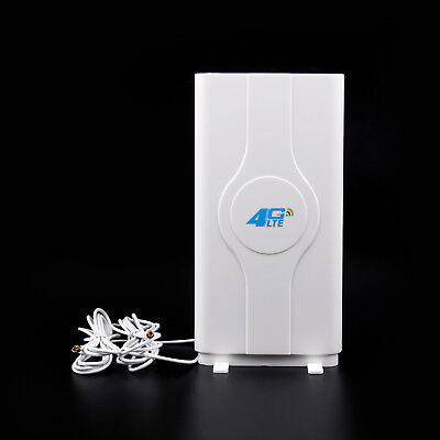 Indoor Blazing Fast 3G 4G 88dBi LTE MIMO Antenna 700MHz-2600MHz 2M TS-9 Wire AU