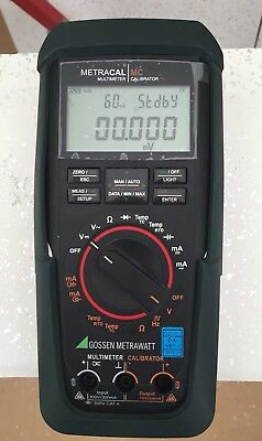Gossen Metrawatt Not Fluke Or Megger Multifunction Multimeter Calibrator.
