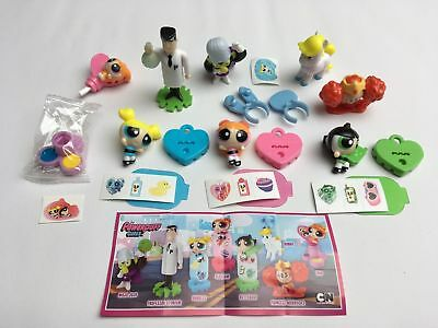 Serie Completa The Powerpuff Girls Se318 - Se325 + 8 Bpz Germania Kinder 2017