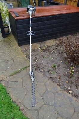 Long Reach  Petrol Hedge Trimmer Full Working Order