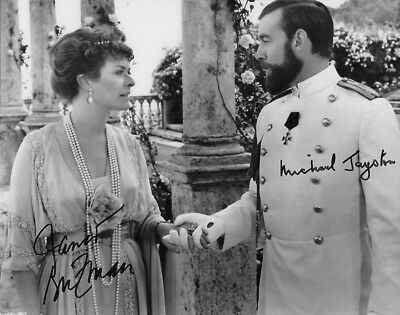 Janet Suzman & Michael Jayston in person signed autograph - Nicolas & Alexandra