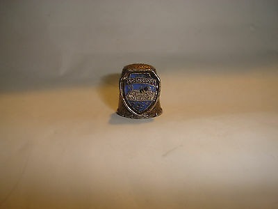Collectible Thimble, State of  Mississippi