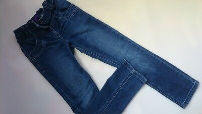 Nice M&S Denim Girl Skinny Jeans Trousers 8 Yrs 7/8 Yrs