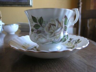 Fine china tea cup and saucer Royal Albert Bone China England