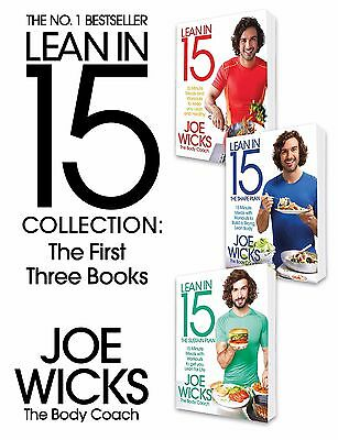 The Lean in 15 Collection: The First Three Books, Joe Wicks 9781509879984
