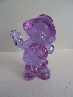 Boyd Art Glass FREDDIE The CLOWN Figurine ALEXANDRITE Lilac Blue 1989