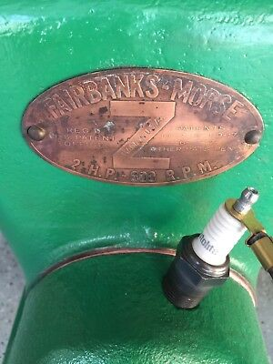 "Fairbanks-Morse ""Z"" 2 hp Stationary Engine"