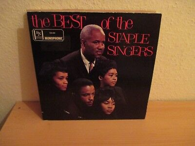 The Staple Singers - The Best Of / Rare USA. Mono Pressung