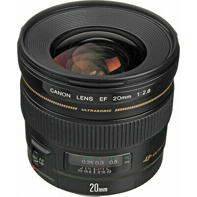 Canon EF 20mm f/2.8 USM Wide Angle Lens #2509A003 BRAND NEW