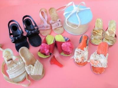 """6 Pairs 18""""-20"""" Fashion Doll Shoes for High Heeled Miss Revlon Cissy Dollikin"""