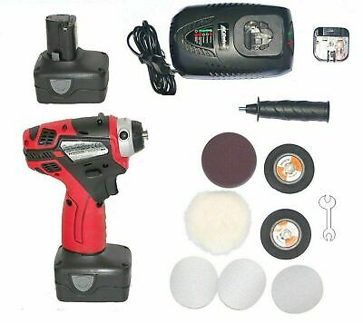 ACDELCO 75 mm Mini Polisher ARS1212, 2019  double the power 4 Amp Batteries