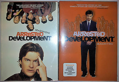 Arrested Development Season One And Two Dvd 1 + 2 First Second Brand New Sealed