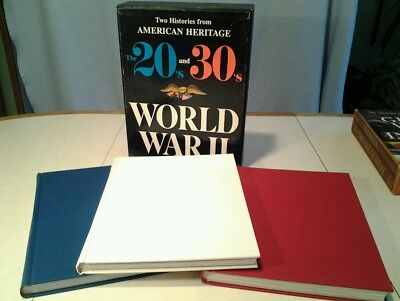 American Heritage the 20 s and 30s World War ll Boxed set books