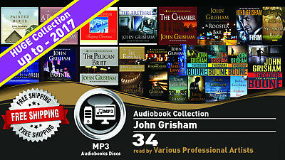 34 - John Grisham Ultimate Audiobook Collection • Unabridged • Lot