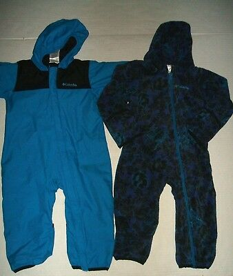 Columbia 3 in 1 Bugababy Bunting Snowsuit Toddler Boy's Girl's 2