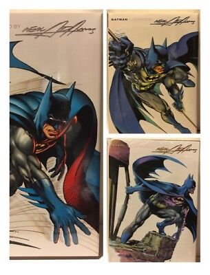 Batman Illustrated By Neal Adams Hardback 3 Book Complete Set Cover Price $150