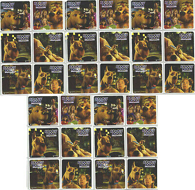 Scooby DOO 2 Movie 29 LARGE Stickers Monsters Unleashed