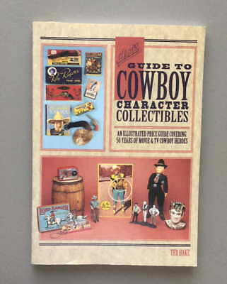 HAKE'S GUIDE TO COWBOY CHARACTER COLLECTIBLES by TED HAKE  1994