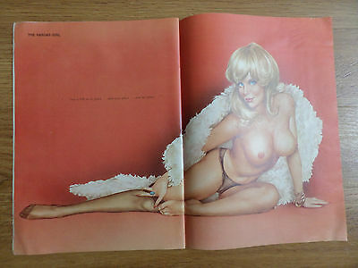 1975 Playboy Print Photo Ad  Pin-up The Vargas Girl by Alberto Vargas