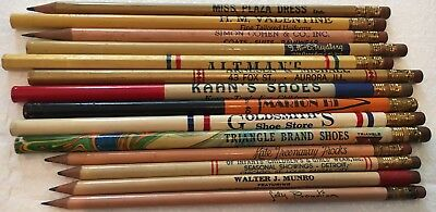 Old, Shoes & Fashion Designer Clothes Advertisement Pencils . Key Collector Lot!