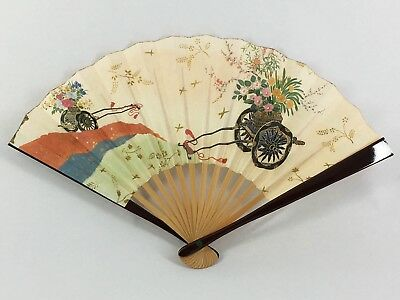 "Small Vintage Japanese ""Sadou"" Tea Ceremony 'Sensu' Folding Fan: Jan18E"