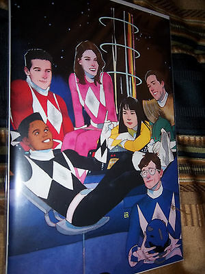 MIGHTY MORPHIN POWER RANGERS #1 WADA VARIANT COVER Boom High Grade! Awesome!
