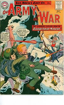 LOT OF 2 SIVER AGE DC-OUR ARMY at WAR #154, #163