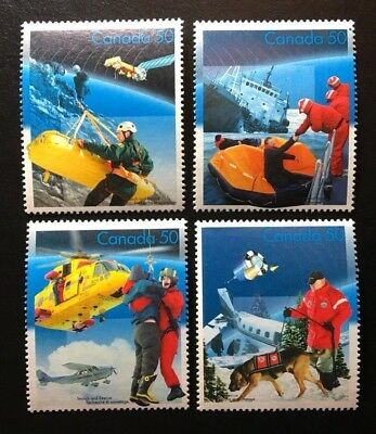 Canada #2111a-2111d MNH, Search and Rescue Set of Stamps 2005