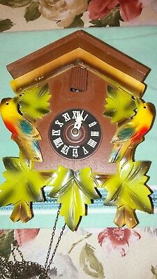 Cuckoo Clock, Schmeckenbecher, Parts/Repair, Made in Germany