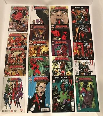 Deadpool Vol 4 (2016) #1-32 + Annual #1 Complete Set / Duggan  1st App 2099