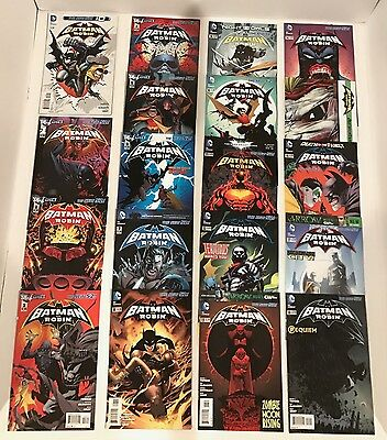 Lot Of 45 Batman And Robin New 52  #0, 1-40 + Annuals #1-3 Complete Set (-1)