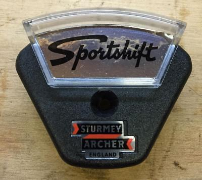 New old stock vintage Sturmey Archer SPORTSHIFT shifter COVER bicycle 3 speed
