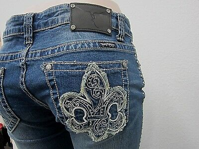 Montana West Trinity Ranch Jeans Boot Cut Western Discontinued Junior Jeans