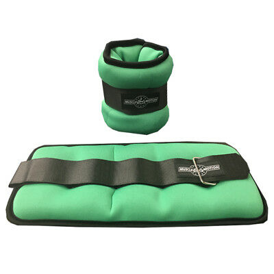 New Muscle Motion Neoprene Wrist and Ankle Weight Weights 3kg (1.5kg x 2)