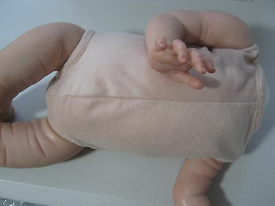 "Reborn Doll Bodies for Full limb dolls. 18"" Doe Suede"