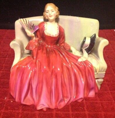 VINTAGE Royal Doulton Figurine SWEET & TWENTY Bone China HN1298 Retired 1969