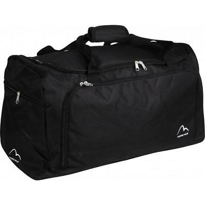 More Mile Medium Training Sports Holdall - Black
