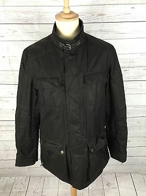 "Men's Massimo Dutti Lightly Quilted Wax Style Jacket -Large 42"" -Great Condition"