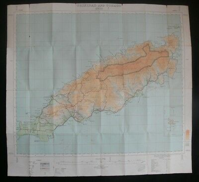 Tobago 1926 Survey Map by Capt. G.H. Latham R.E., Printed by O.S.