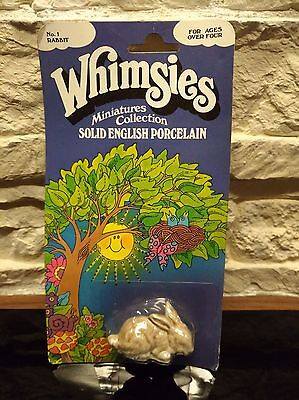 Vintage Wade Whimsie full boxed Blister England No.1 Rabbit