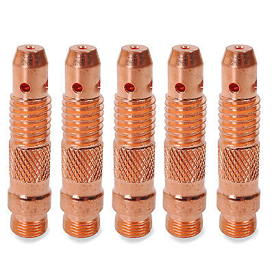 "5Pc 2.0Mm 5/64"" Wp17 Wp18 Wp27 Tig Weld Soudeur Torch Consommable Collet Soudage"